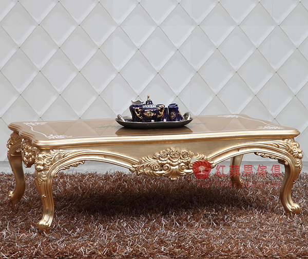 [紅蘋果傢俱] CTN-13 新古典 歐式 法式 奢華 彩繪 茶几 桌子 裝飾桌 造型桌 咖啡桌 工廠直營
