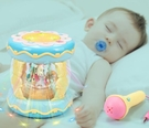 嬰兒玩具手拍鼓兒童音樂拍拍鼓早教益智1歲0-6-12個月寶寶3 蜜拉貝爾