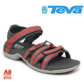 【Teva】女款 Tirra Ws 多功能織帶機能運動涼鞋 - 果橘色 (4266BDSC)【全方位運動戶外館】