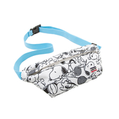 Levis X Snoopy sport限量聯名 男女同款 腰包 / 滿版史努比插畫印花