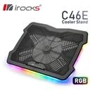 irocks C46E RGB多彩背光筆...