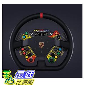 [9美國直購] FANATEC 遊戲方向盤CLUBSPORT WHEEL RIM PORSCHE 911 GT3 R (LEATHER)