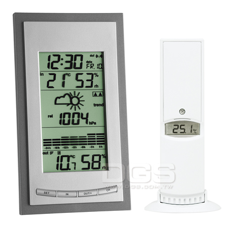 《TFA》無線氣象站 DIVA Plus Wireless Weather Station