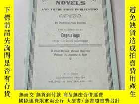 二手書博民逛書店NINETEENTH罕見CENTURY NOVELS AND THEIR FIRST PUBLICATION(大3