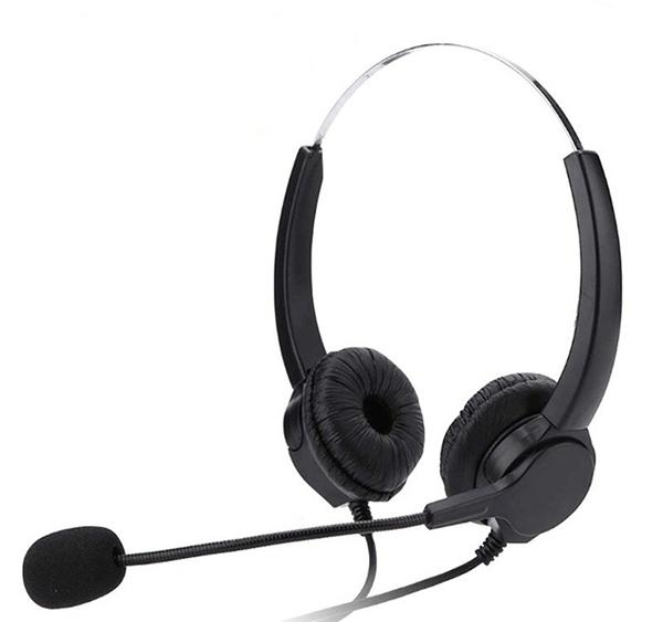 客服頭戴式電話耳機推薦 雙耳總機電話耳機麥克風 FANVIL C62P 當日下單出貨 國洋 東訊 聯盟