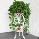 花架 歐式花架鐵藝多層室內落地式綠蘿花架子客廳置物陽臺簡約家用花盆快速出貨