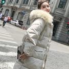 連帽外套 好康推薦新款羽絨棉服外套女迷你面包服正韓寬鬆bf棉襖冬季中長版棉衣