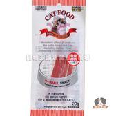 【寵物王國】韓國BOWWOW鮑爾-愛貓雞肉起司棒20g(含化毛配方)