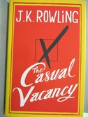 【書寶二手書T9/原文書_WFX】The Casual Vacancy _Rowling, J. K.