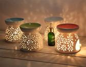 薰香燈蠟燭香薰爐大號大容量香薰燈陶瓷精油爐精油燈熏香
