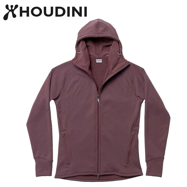 瑞典【Houdini】M`s Power Houdini 男款Power Stretch® Pro™保暖外套 紅色幻想