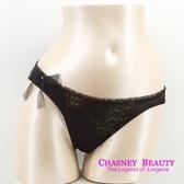 Chasney Beauty-Aerial Music夢幻樂曲S-L三角褲(黑襯金)
