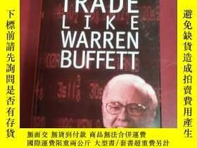 二手書博民逛書店trade罕見like warren buffett 像沃倫·巴