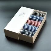 長襪禮盒(5雙裝)-舒適純棉時尚商務保暖男士襪子套組5色72s20【時尚巴黎】