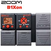 【非凡樂器】ZOOM B1Xon 電貝斯綜合效果器 內建踏板 節奏機 / 贈變壓器&導線 公司貨保固