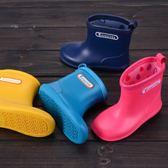 兒童雨鞋中低筒防滑寶寶雨靴 男女童春夏小孩水鞋 日本輕便膠鞋  莉卡嚴選