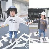 男童秋裝T恤女童韓版打底衫兒童長袖嬰兒寶寶上衣2018新款潮寬松
