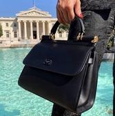 ■專櫃63折■全新真品 ■Dolce & Gabbana 小款 Soft Sicily 包 黑色