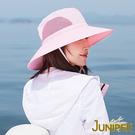 防曬帽子-抗UV防曬大帽眉遮陽漁夫帽J7557A JUNIPER