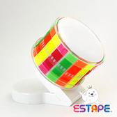 王佳膠帶 ESTAPE 易撕貼膠台ZHZd0+全螢彩易撕貼 / 組