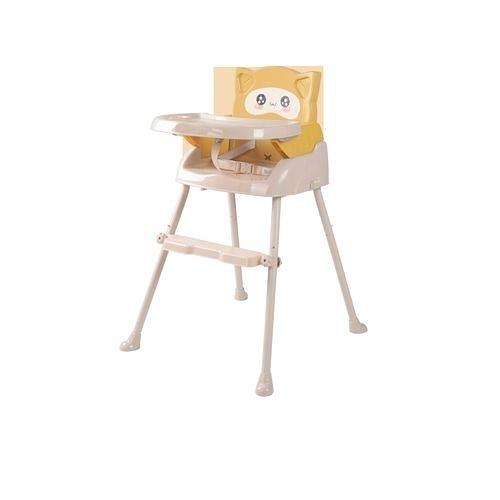 Cuibaby 酷貝比 好奇貓四合一兒童用高腳椅-雞蛋黃[衛立兒生活館]