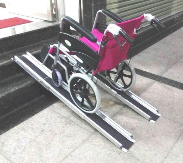 斜坡板/鋁輪椅梯-輪椅爬梯專用斜坡板150CM  (台灣製造)