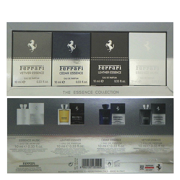 Ferrari 法拉利 聖誕禮盒限量版-小香組禮盒 (10mlx 4入)