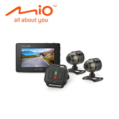 MIO M710D 雙鏡頭 機車行車紀錄器 分離式 雙Sony感光 夜視強化 TS秒存檔