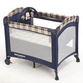 【金安德森】雙層嬰幼兒遊戲睡床-附蚊帳、送玩具架