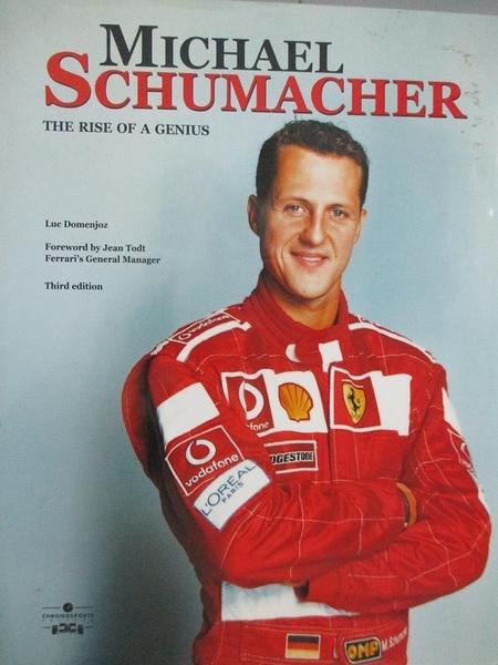【書寶二手書T5/原文小說_ZFD】Michael Schumacher: Rise of a Genius_Domen