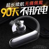 藍芽商務耳機 藍芽耳機掛耳式開車可接聽電話無線單耳入耳式蘋果華為頭戴運動 DF 科技旗艦店