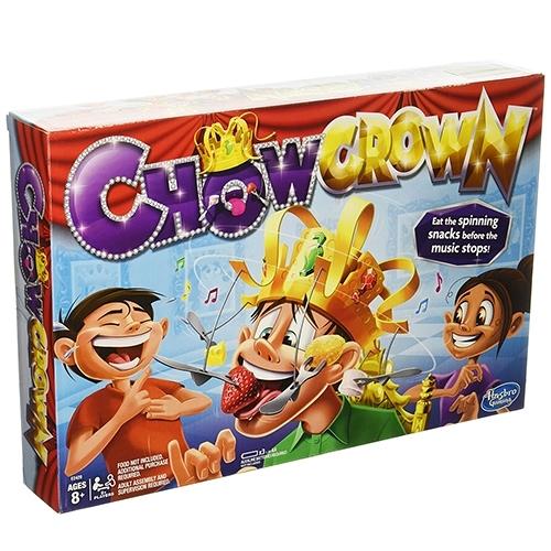 《 HASBRO 》CHOW CROWN 咬咬點心王冠╭★ JOYBUS玩具百貨