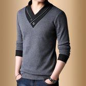 半高領毛衣 日韓潮流長袖打底衫加厚毛線衣外套男士針織衫 森雅誠品