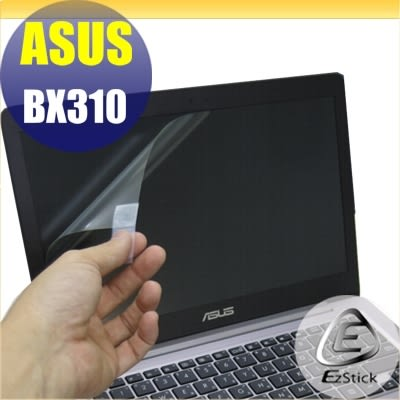 【Ezstick】ASUS BX310 專用 靜電式筆電LCD液晶螢幕貼 (可選鏡面或霧面)