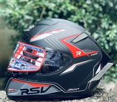 RSV安全帽,SPYDER,核能/消光黑紅