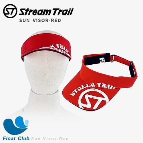 Stream Trail 周邊配件 Sun Visor-Red / 網球帽 紅
