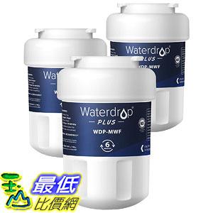 [8美國直購] Waterdrop Plus MWF Refrigerator Water Filter, Compatible with GE SmartWater MWF