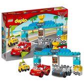樂高積木樂高得寶系列10857活塞杯汽車大賽LEGO積木玩具 聖誕交換禮物xw