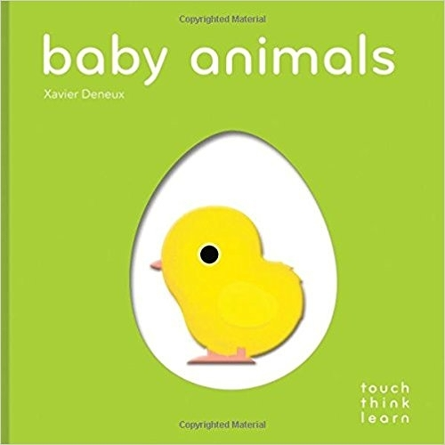 【英國幼兒感官觸摸書】TOUCH‧THINK‧LEARN: BABY ANIMALS《主題:動物》作者: Xavier Deneux