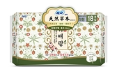 蘇菲天然草本衛生棉夜用29cm 18片【屈臣氏】