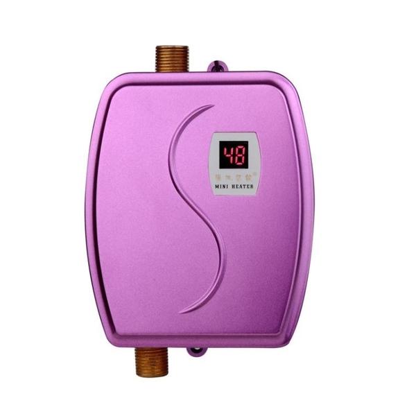 110V現貨 專供即熱式電熱水龍頭小廚寶廚房快速加熱家用兩用迷你熱水器 夢幻小鎮