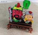【收藏天地】台灣紀念品*神明守護擺飾-關聖帝君 濟顛活佛/禮品 小物 開運 保佑