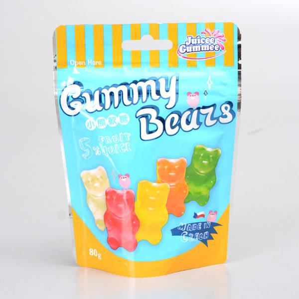 【Juicee Gummee】百靈QQ軟榶(水果熊造型)80g