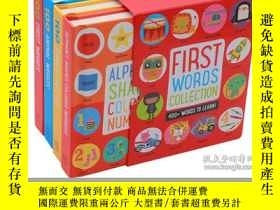 二手書博民逛書店英文原版罕見幼兒英語啓蒙紙板書 first 100 words