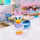 正版 LEGO 樂高鑰匙圈 迪士尼 唐老鴨 黛西 人偶鑰匙圈 鎖圈 吊飾 黛西款 COCOS FG280