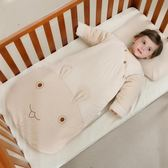 兒嬰兒睡袋秋冬季加厚款寶寶蘑菇嬰幼兒童彩棉防踢被子新生兒 森活雜貨