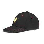 Puma Ferrari 黑黃色 帽子 運動帽 老帽 遮陽帽 六分割帽 經典棒球帽 運動帽 02252702