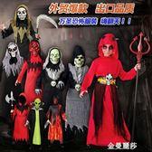 新款萬聖節兒童服裝恐怖惡魔紅魔鬼怪吸血鬼僵尸cosplay男童套裝 金曼麗莎