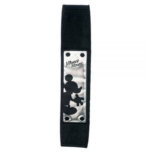 NAPOLEX 迪士尼 米奇安全帶護套 (黑銀)
