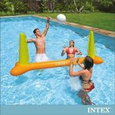 【INTEX】兒童排球充氣玩具/水上排球網架(56508)